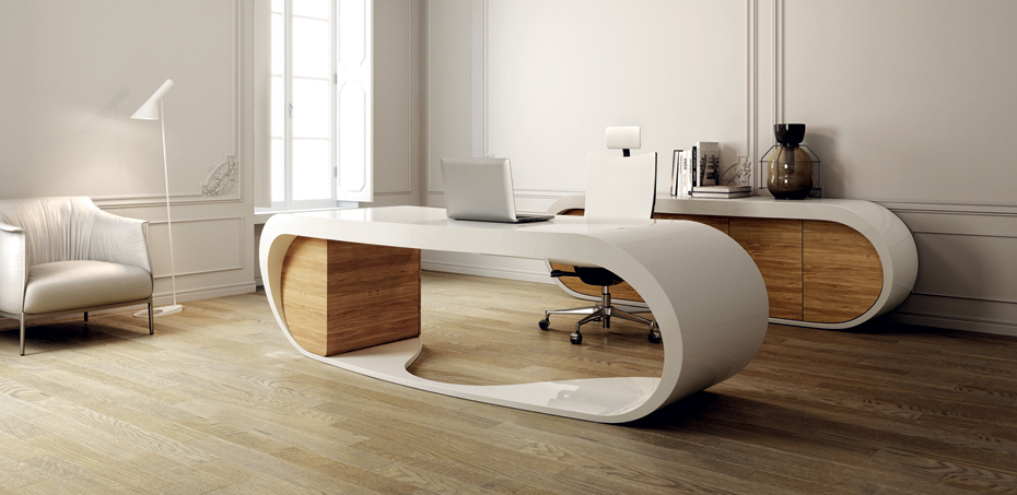 Goggle Desk By Babini Office The