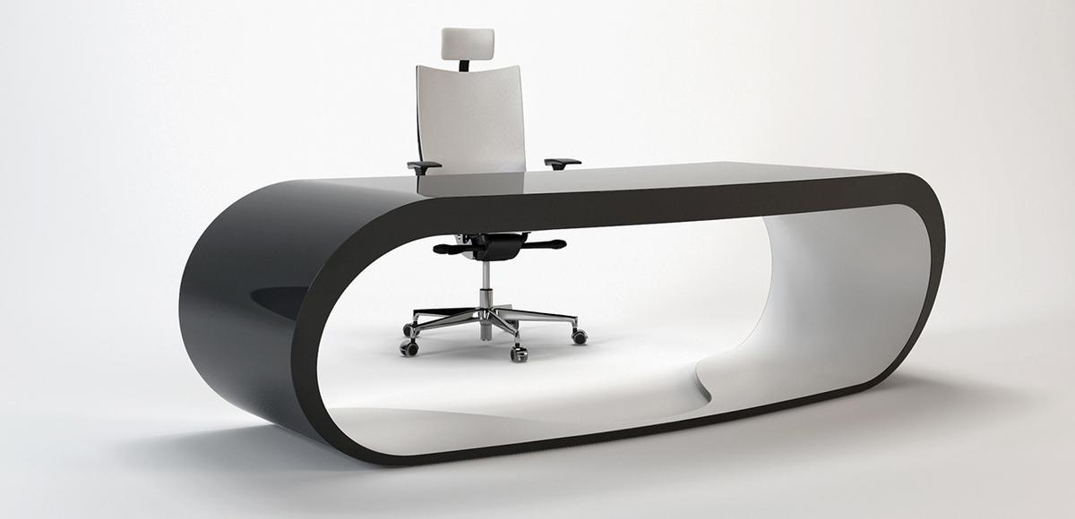 wonderful futuristic office desk   Goggle desk by Babini office: buy the Italian office ...
