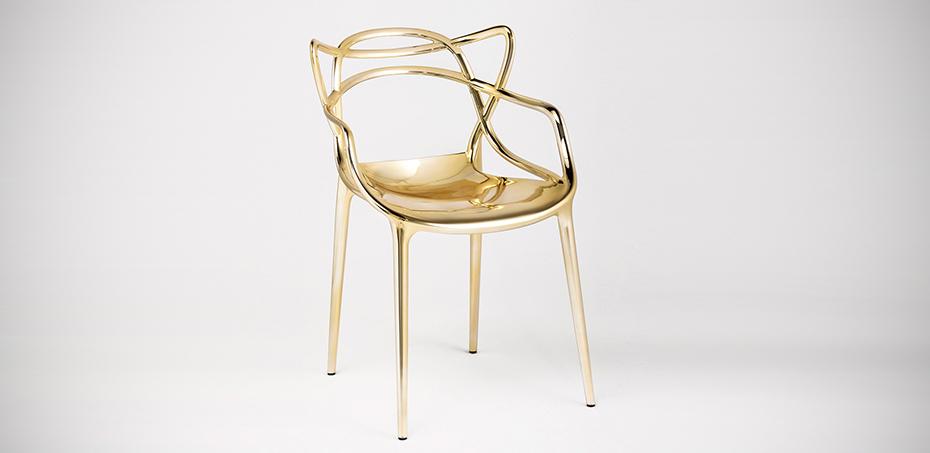 Design Stoelen Philippe Starck.Masters Polypropylene Chair By Kartell