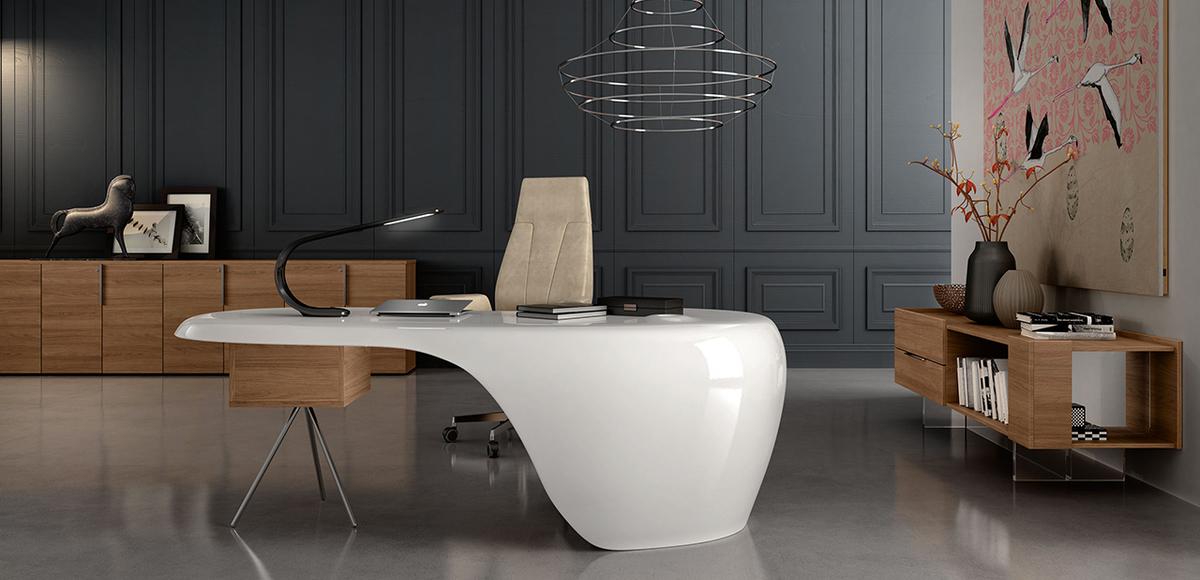 Design Office Desk Uno By Karim Rashid