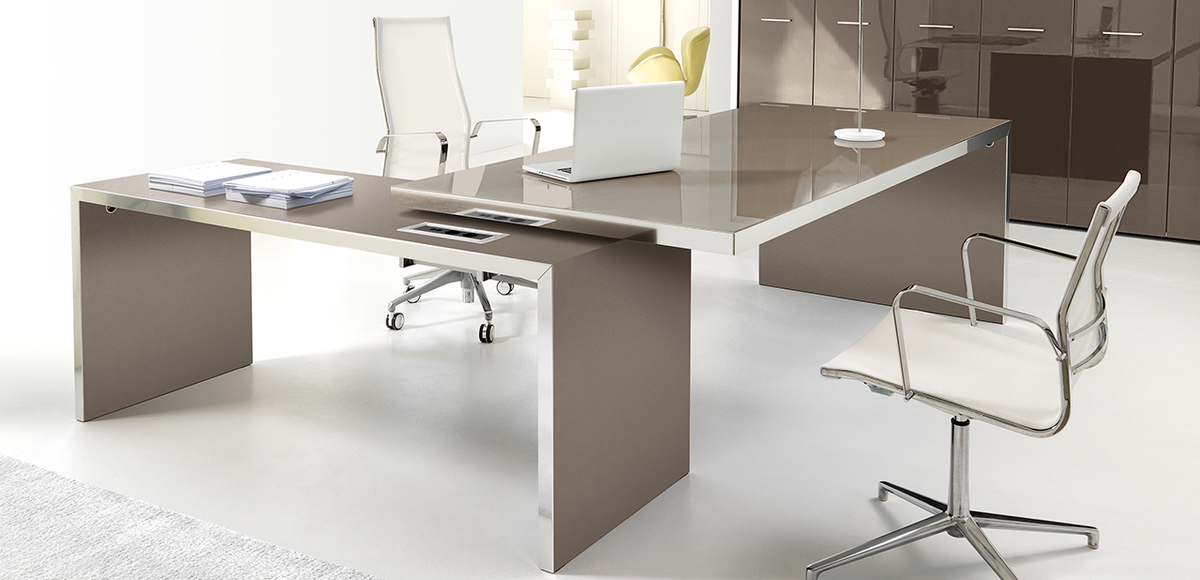 Office Desk Wing By Ivm