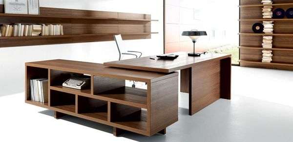 contemporary desk Lithos