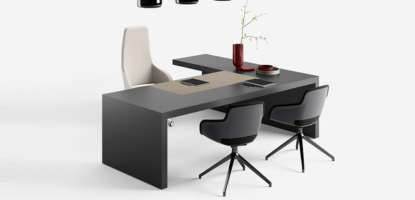 designer desk Vogue